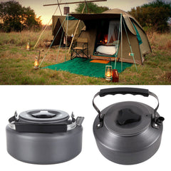 Outdoor Camping Aluminum Water Kettle - Gidli