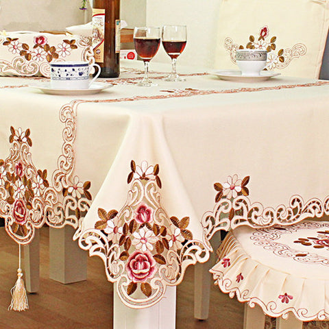 Embroidered Table cloth High-grade - Gidli