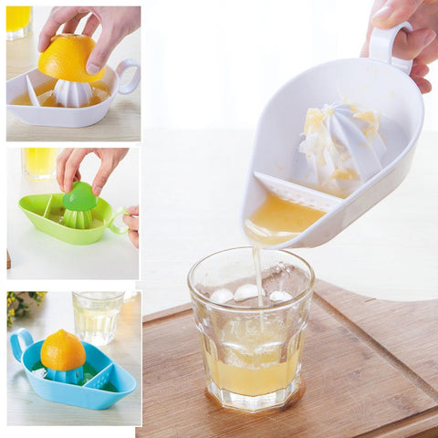 Manual Juicer Orange Lemon Squeezers - Gidli