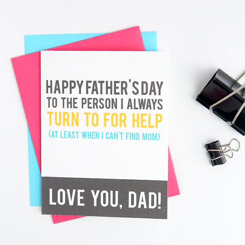 Father's Day Messages For Cards