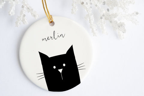 Custom Pet Ornament | Personalized Cat Ornament | Ollie + Hank