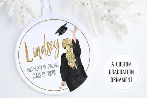 Graduation Ornament | Personalized Graduation Ornament | Ollie + Hank