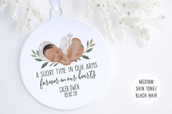 Baby Loss Gift | Angel Baby Ornament | Ollie + Hank