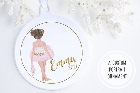 Ballerina Christmas Ornament | Little Ballerina Ornament | Ollie + Hank
