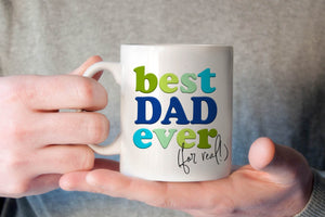 Best Dad Ever Mug | Best Dad Gift | Ollie + Hank