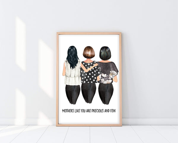 Birthday Gift For Mom | Custom Mom Print