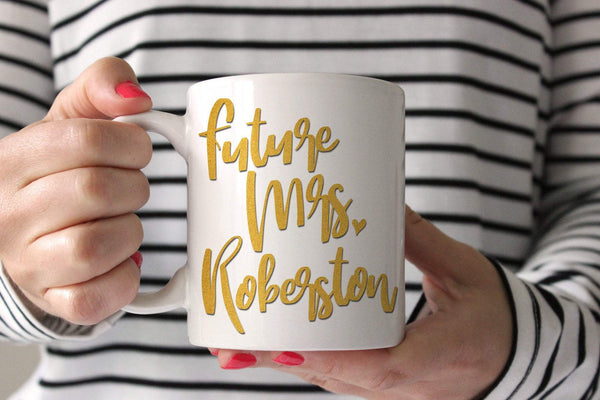 Bride Mug | Future Mrs Mug | Ollie + Hank