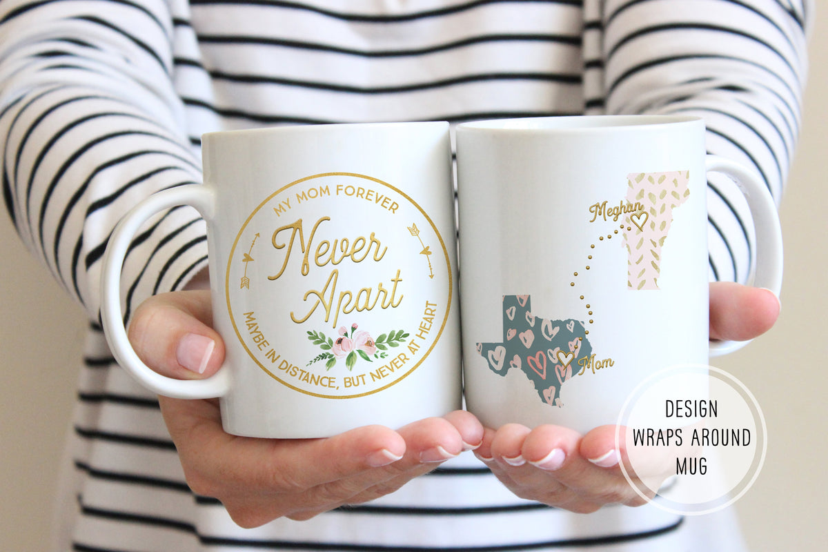 Christmas Gifts For Mom From Daughter.Christmas Gifts For Mom From Daughter Mom Long Distance Mug