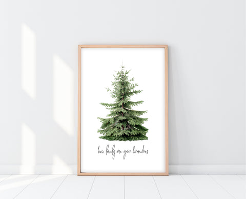 Christmas Wall Decor | O Christmas Tree Print | Ollie + Hank