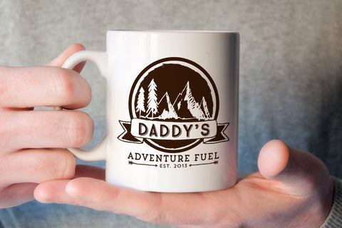Mug For Father's Day | Daddy's Adventure Fuel Mug