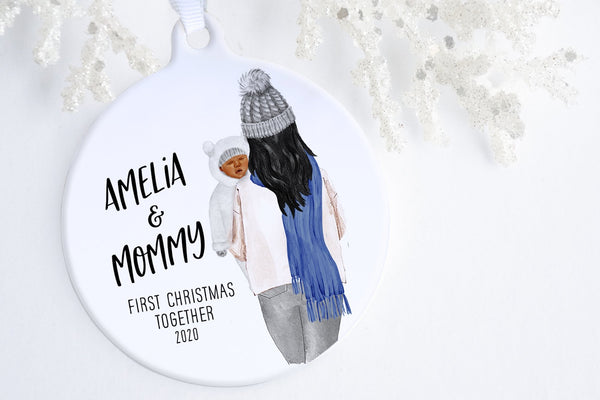 First Time Mom Christmas Gift | Baby Of Mine Ornament | Ollie + Hank