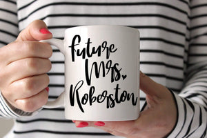 Engagement Mugs | Future Mrs Mug | Ollie + Hank
