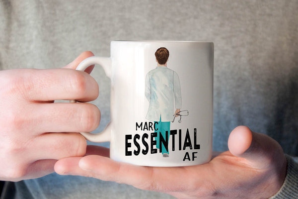 Gift For A Doctor | Personalized Gift For Nurse | Essential AF Mug