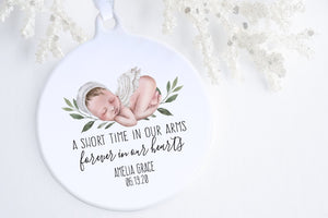 Gift For Baby Loss | Angel Baby Ornament | Ollie + Hank