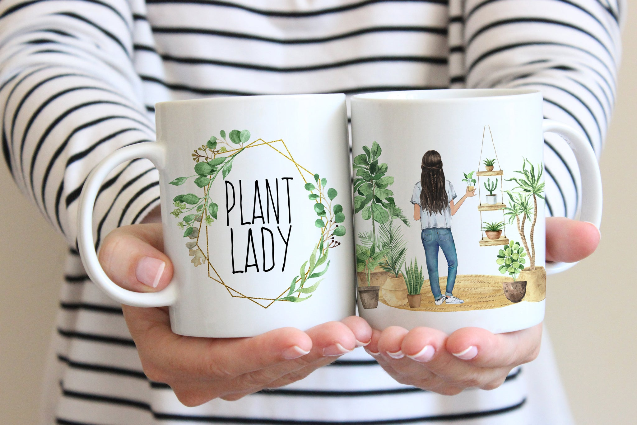 Gifts For Plant Lovers | Plant Lady Mug | Ollie + Hank
