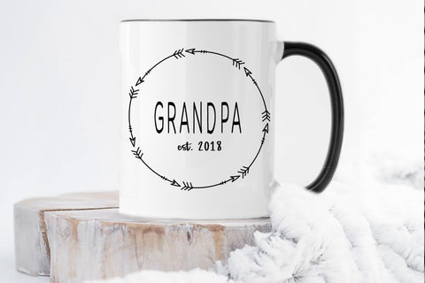Gifts For New Grandparents | Grandpa Mug | Ollie + Hank