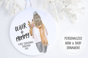 Gifts For New Mom Christmas | Baby Of Mine Ornament | Ollie + Hank