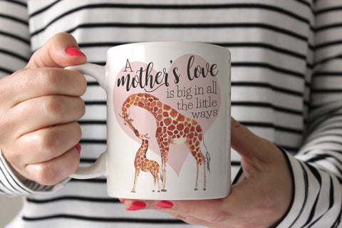 Giraffe Mug | Gift For New Mom | Ollie + Hank