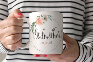 Godmother Proposal Mug