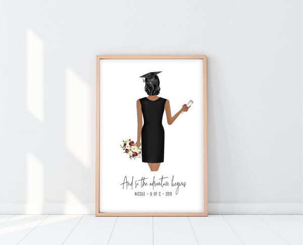 Graduation Gift For Sister | Graduation Print | Ollie + Hank