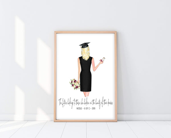 Graduation Gift For Daughter | Graduation Print | Ollie + Hank
