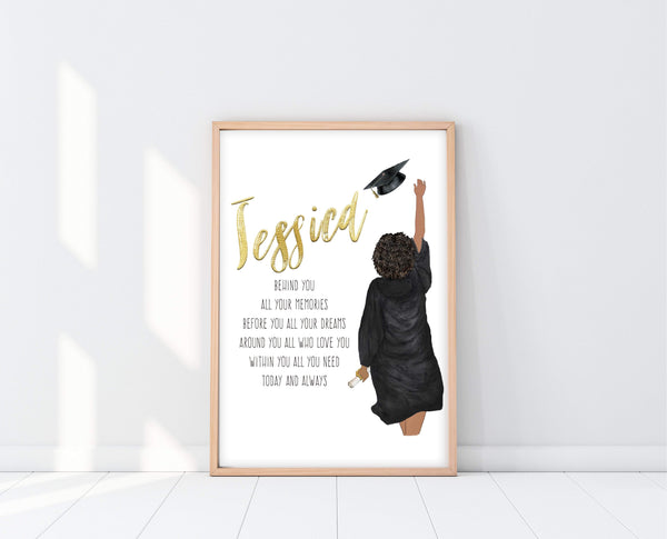 Graduation Gifts High School | Graduation Poem Print | Ollie + Hank