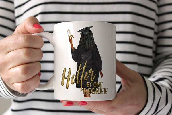 Graduation Gift For Friend | Hotter By One Degree Mug | Ollie + Hank