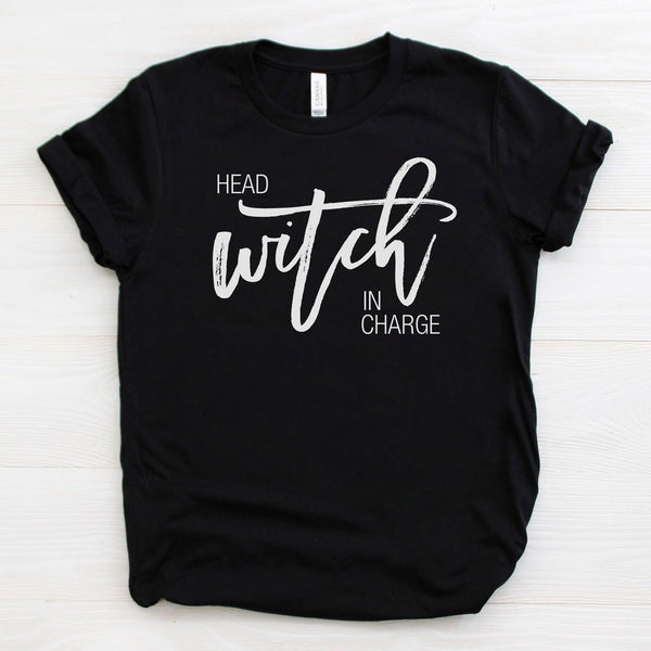 Halloween Shirts For Women | Head Witch In Charge Shirt | Ollie + Hank