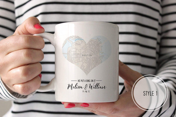 Personalized Map Mug | Ollie + Hank