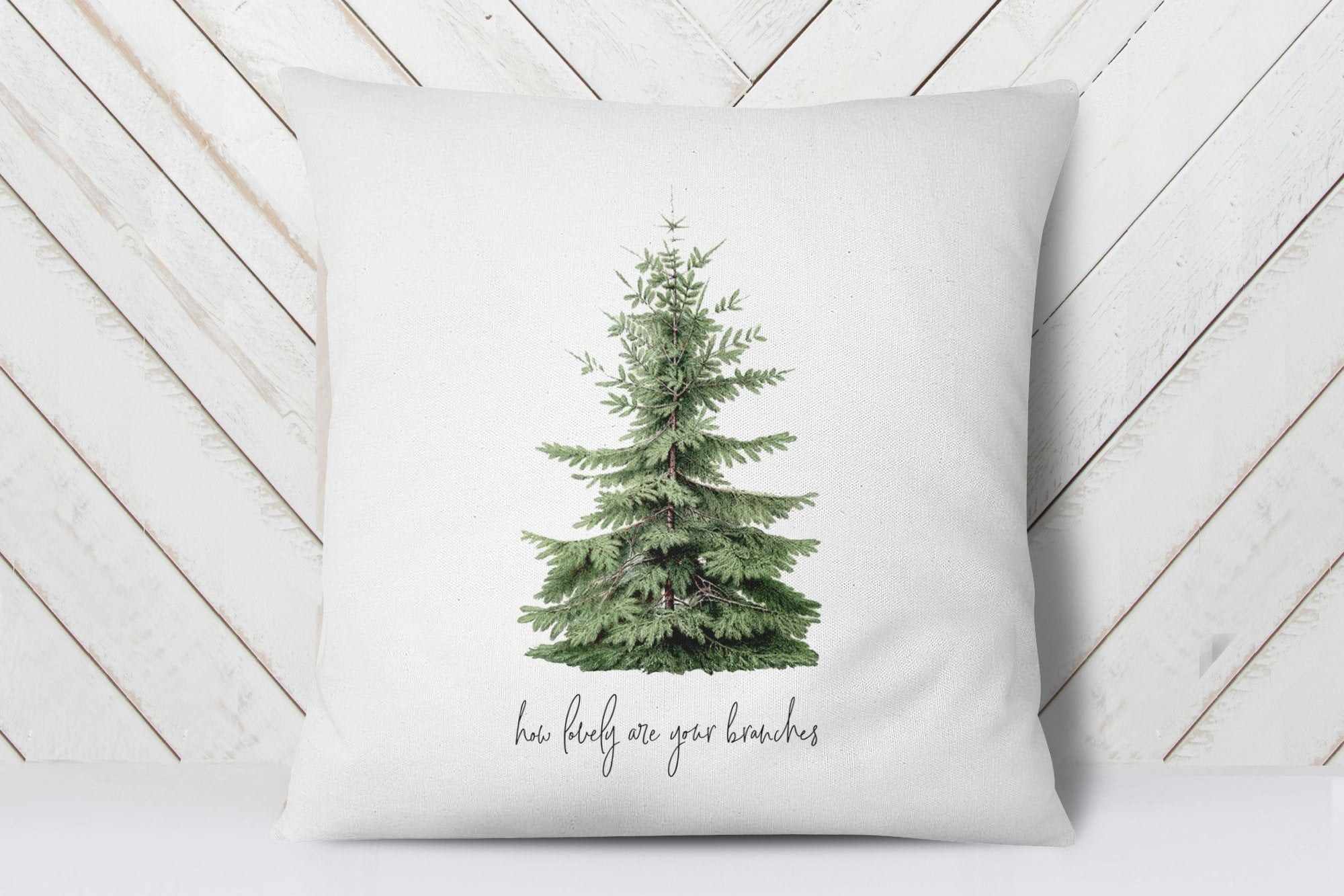 Holiday Pillows | O Christmas Tree Pillow | Ollie + Hank