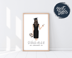 Graduation Gifts For Girls | Graduation Print | Ollie + Hank