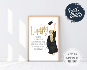 Graduation Gifts For Her | Graduation Poem Print | Ollie + Hank