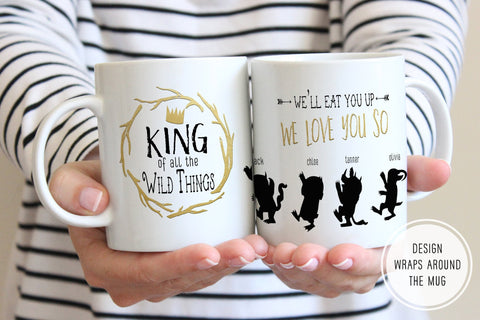 King Of All The Wild Things Mug | Ollie + Hank