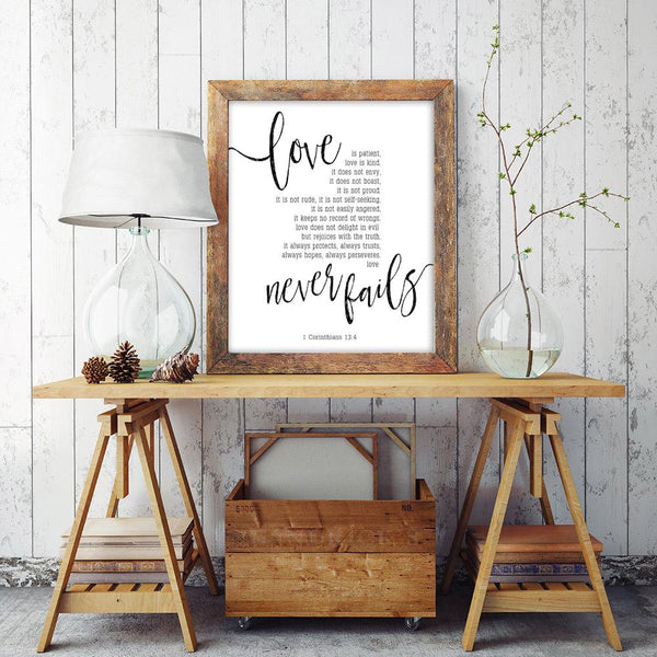 Love Is Patient Wedding Sign | Ollie + Hank