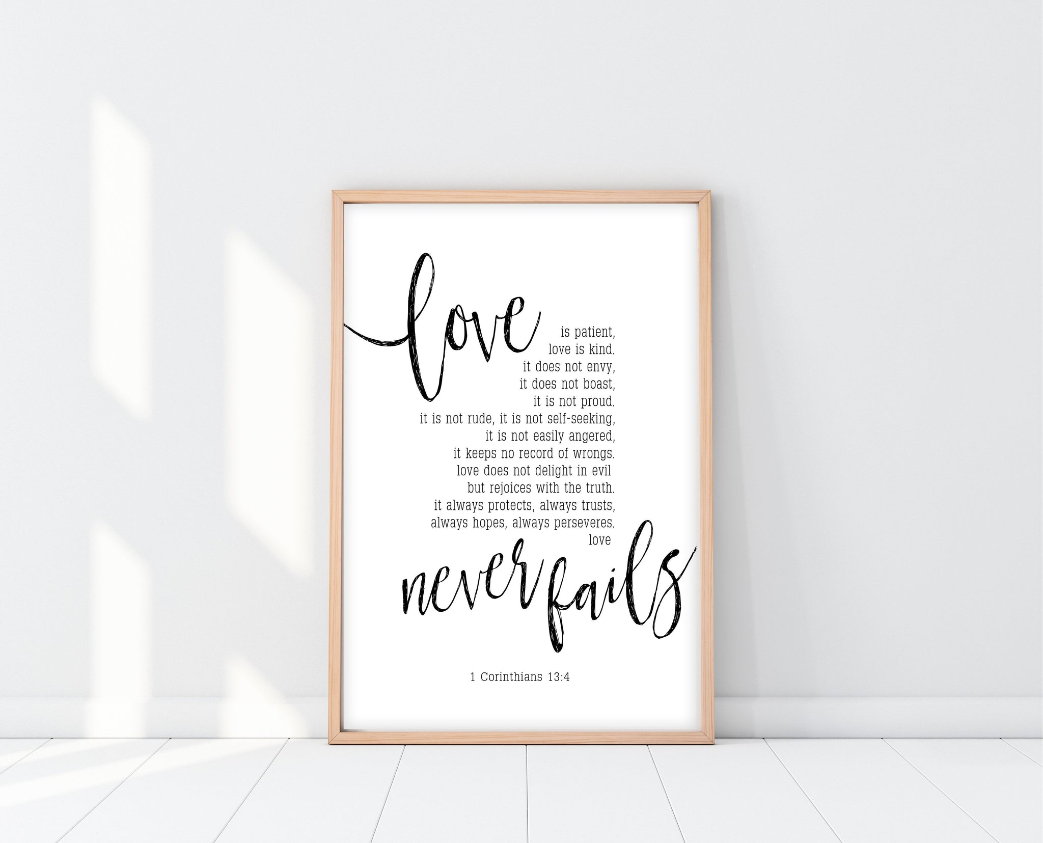 Love Is Patient Sign Printable | Ollie + Hank