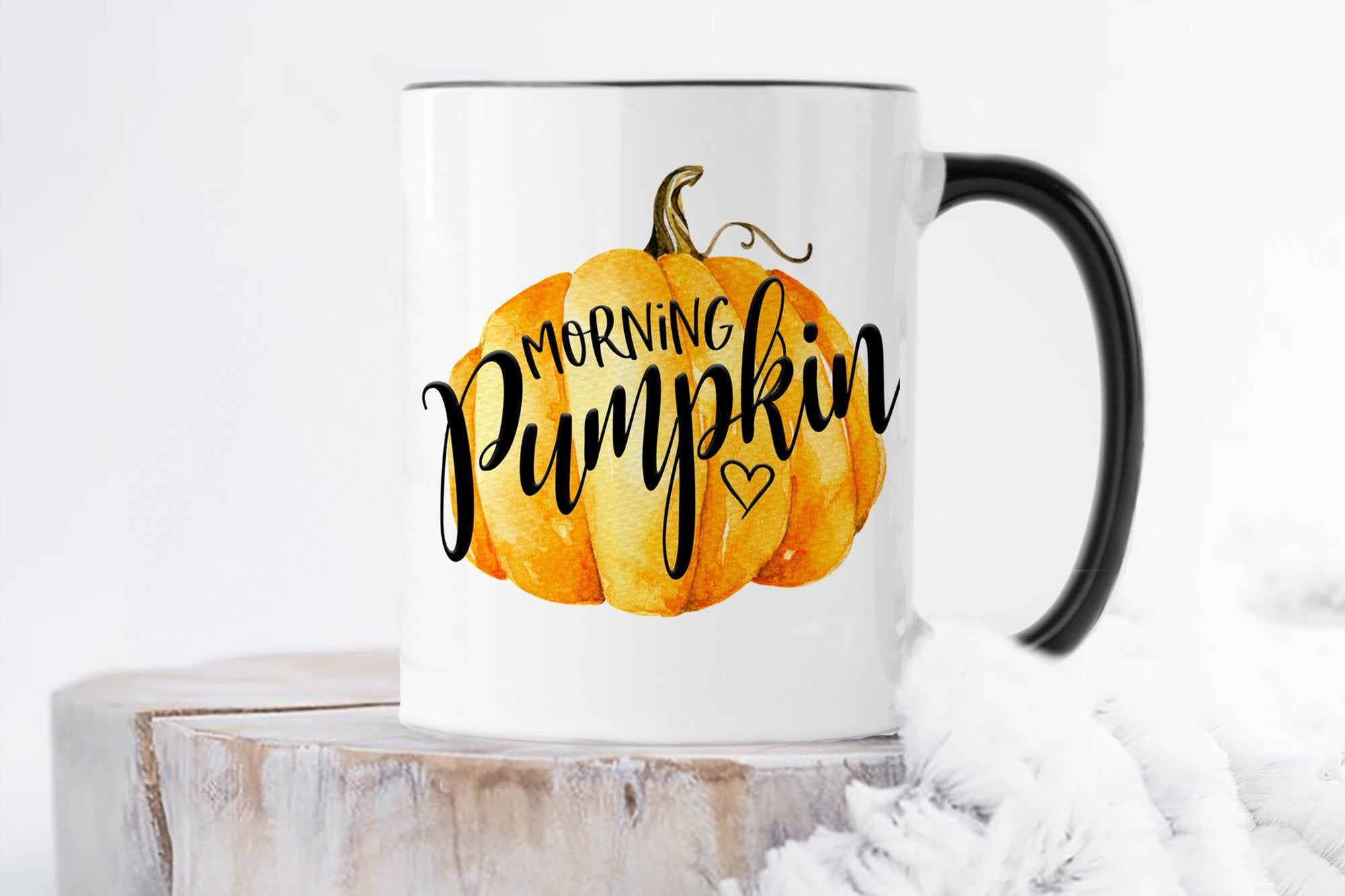 Morning Pumpkin Mug | Fall Coffee Mug | Ollie + Hank