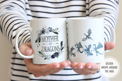 Game Of Thrones Gift For Mom | Mother Of Dragons Mug | Ollie + Hank