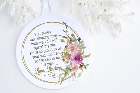 Mother Of The Groom Gift From Bride | Mother Of The Groom Ornament | Ollie + Hank