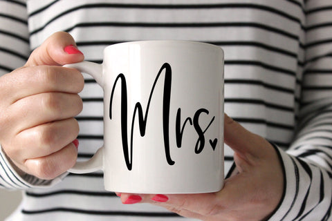 Gift For Bridal Shower | Mrs Mug | Ollie + Hank