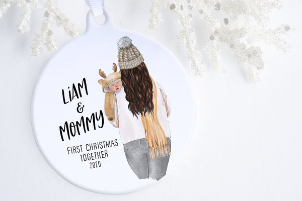 New Mom Christmas Gift Ideas | Baby Of Mine Ornament | Ollie + Hank