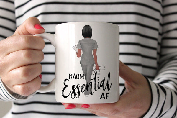 Nurse Week Gift Ideas | Personalized Gift For Nurse | Essential AF Mug