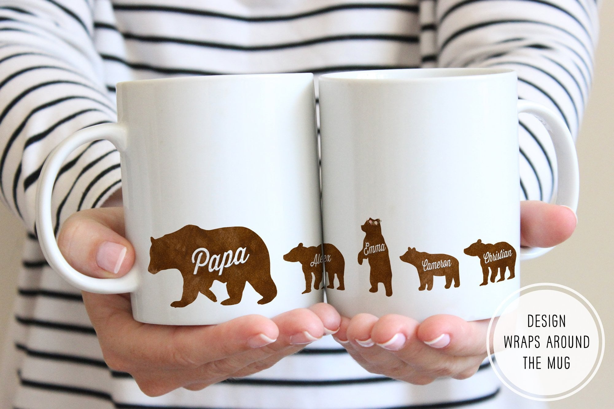 Father's Day Mug | Papa Bear Mug | Ollie + Hank