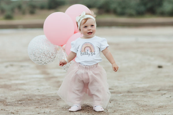Rainbow Baby Clothes | Boho Birthday Babe | Ollie + Hank
