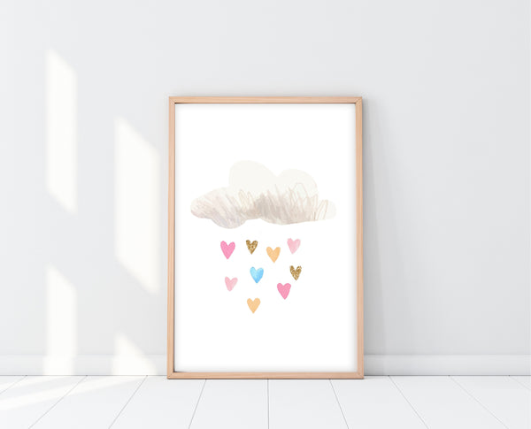 Unicorn And Rainbow Wall Art | Unicorn Rainbow Print Set | Ollie + Hank