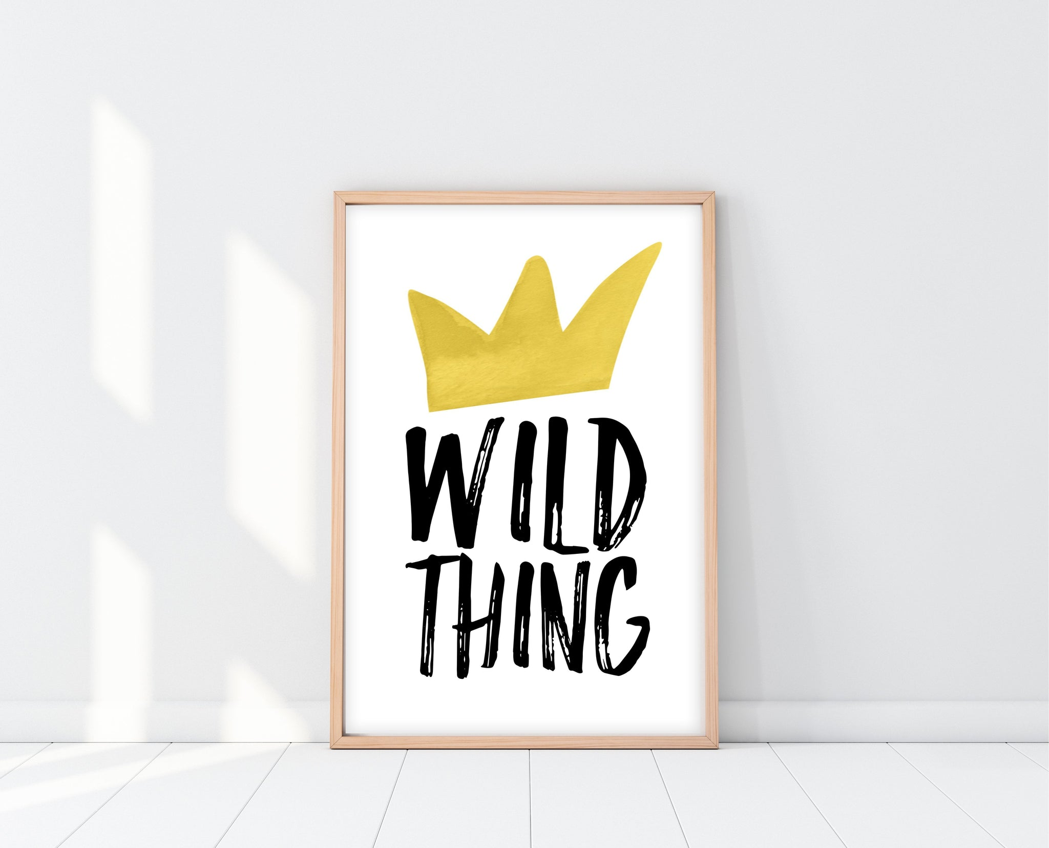 Where The Wild Things Are Nursery Art | Wild Thing Print | Ollie + Hank