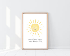 You Are My Sunshine Nursery Art | Ollie + Hank