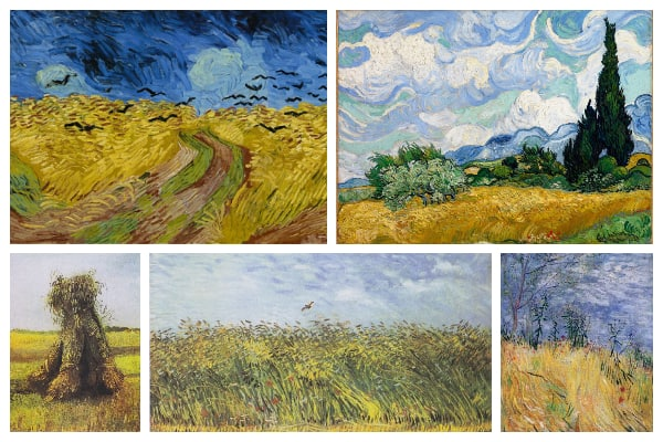 Van Gogh - Wheat Field Series
