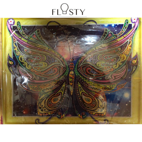 Bedazzled Diamond Painting - Butterfly in Galaxy