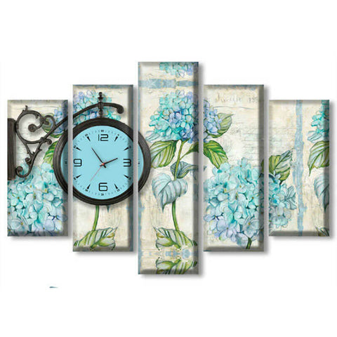 Image of 5 Panels Diamond Painting - Bell Flower - Floating Styles - Diamond Embroidery - Paint With Diamond
