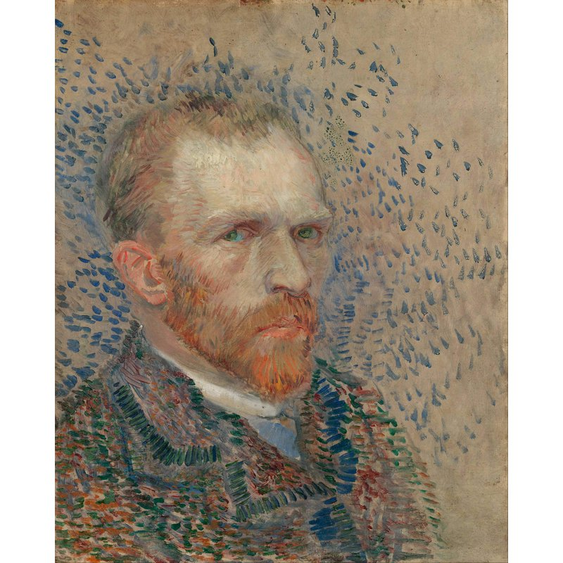 Diamond Painting - Van Gogh - Self Portrait - 01